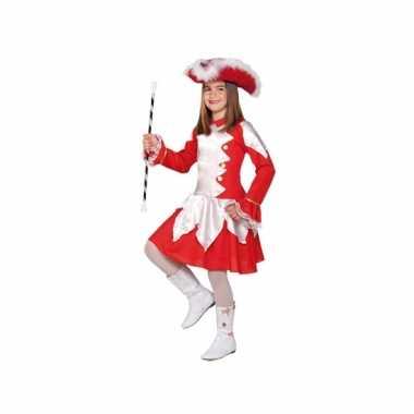 Showdans outfit rood voor meiden