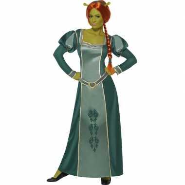 Shrek verkleed kleding fiona