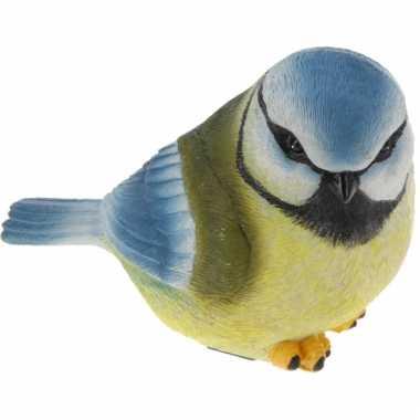 Sier vogeltjes pimpelmeesje 17 cm