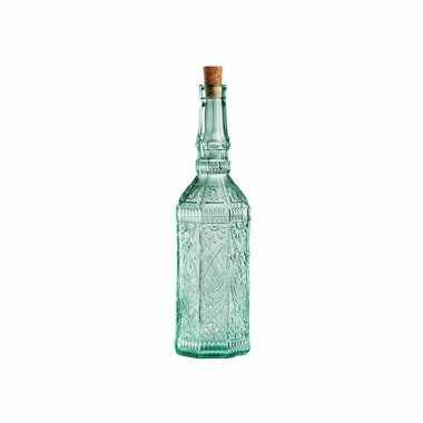 Sierlijke glazen decoratie fles