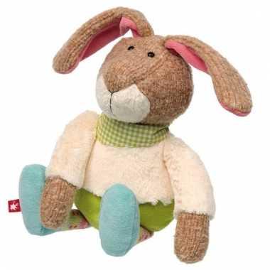 Sigikid patchwork konijntje 28 cm