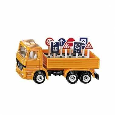 Siku speelgoed vrachtwagen
