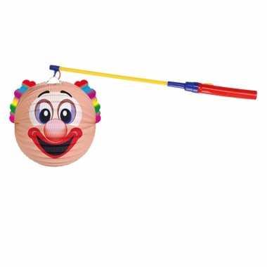 Sint maarten lampionset clown 22 cm