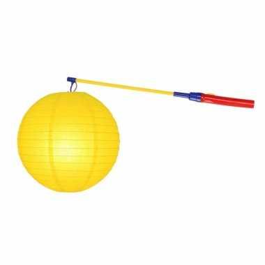 Sint maarten lampionset geel 25 cm