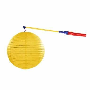 Sint maarten lampionset geel 35 cm