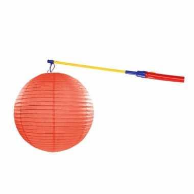 Sint maarten lampionset oranje 35 cm