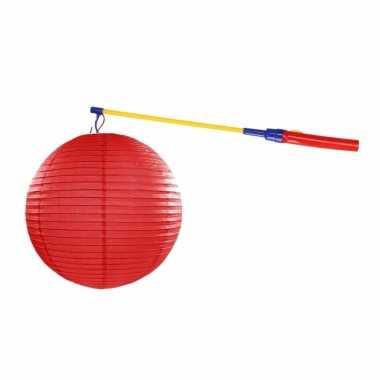 Sint maarten lampionset rood 35 cm