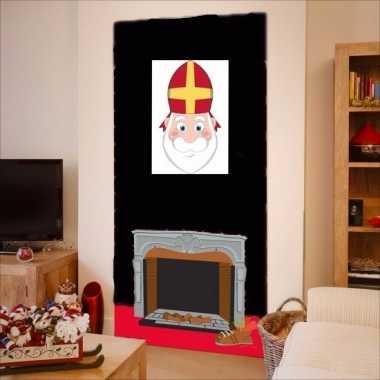Sinterklaas muurversiering 42 cm