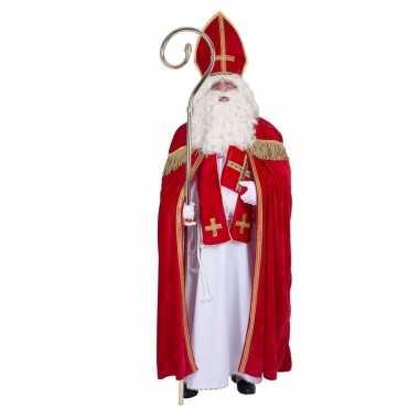 Sinterklaas verkleed pak voor volwassenen