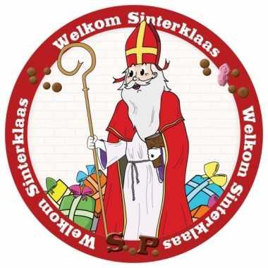 Sinterklaas viltjes 24 stuks