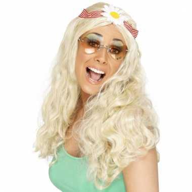 Sixties hippie damespruiken