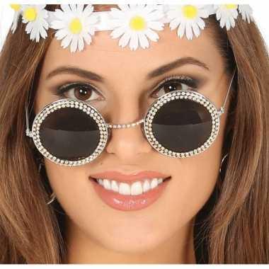 Sixties zonnebril met ronde glazen