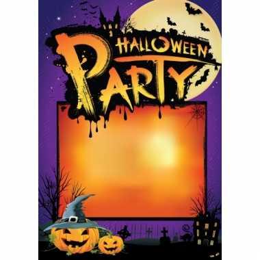 Sjabloon poster halloween