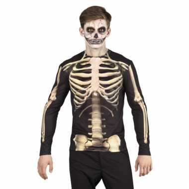 Skeletten herenshirt