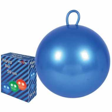 Skippy bal blauw 70 cm