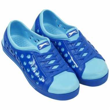 Slazenger dames waterschoen in kobalt/lichtblauw