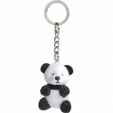 Sleutelhanger met panda 6 cm