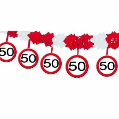 Slinger 50 jaar verkeerstbord