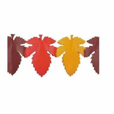 Slinger in de vorm van herfstbladeren