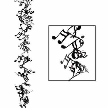 Slinger met muzieknoten 63 cm