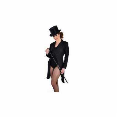 Slipjas zwart voor dames