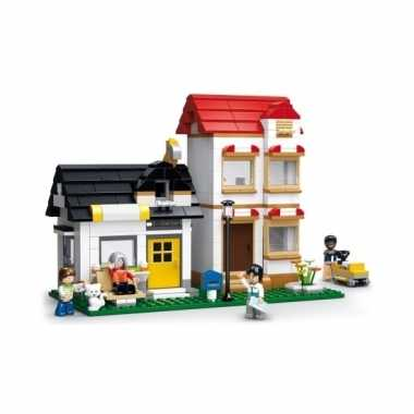 Sluban appartement blokjes bouwset