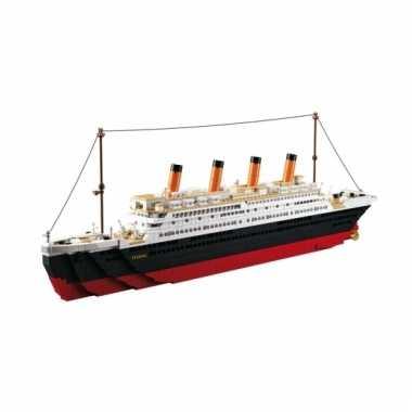 Sluban boot titanic blokjes bouwset
