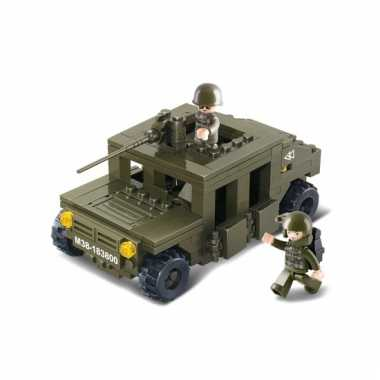Sluban bouwstenen pantserwagen