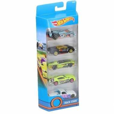 Speelgoed autootjes 5 stuks