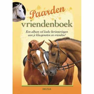 Speelgoed boek paardjes vriendenboekje poesiealbum