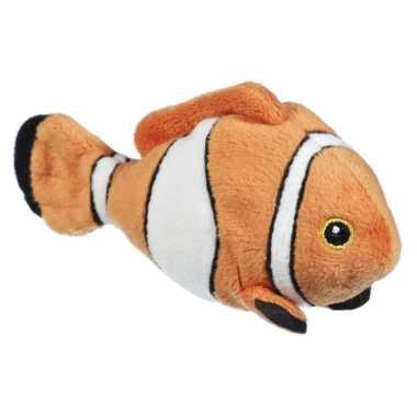 Speelgoed clownvis knuffel 13 cm