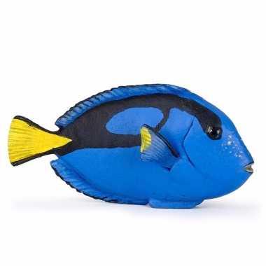 Speelgoed doktersvissen blauw7 cm