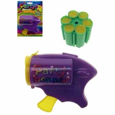 Speelgoed gun met partypoppers