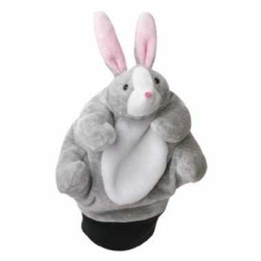 Speelgoed handpop paashaas 22 cm