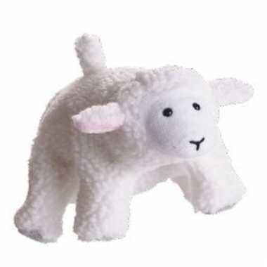 Speelgoed handpop schaap lammetje 22 cm