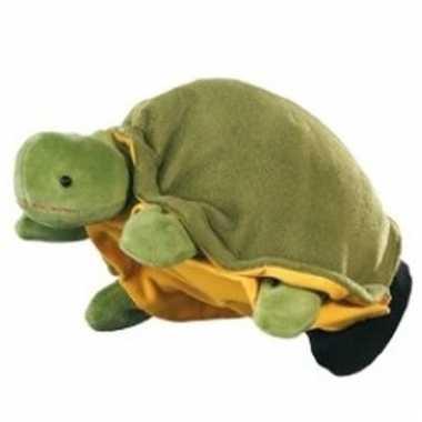 Speelgoed handpop schildpadje 22 cm
