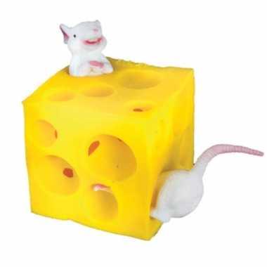 Speelgoed stretch muis en kaas