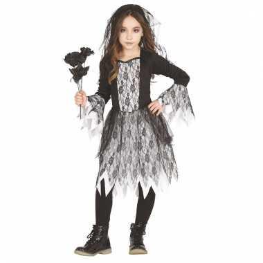 Spook bruid verkleedkleding voor meiden