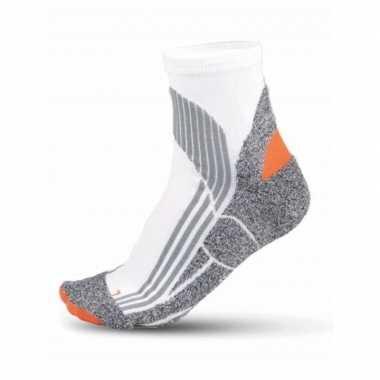 Sport sokken running in het wit maat 39-42