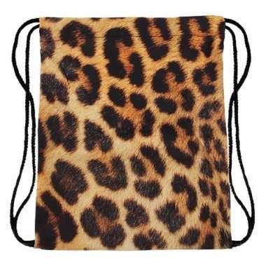 Sporttasje met cheetah print