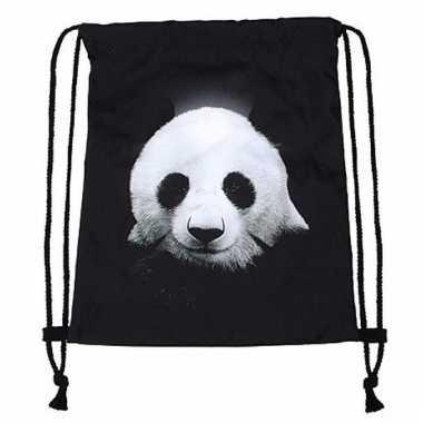 Sporttasje met panda