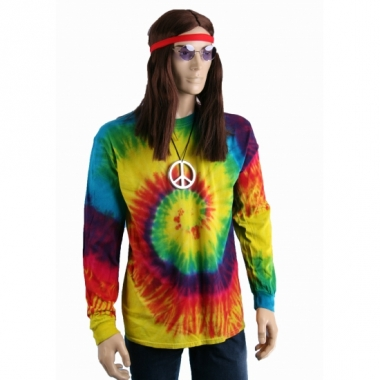 T-shirt alternatieve print regenboog