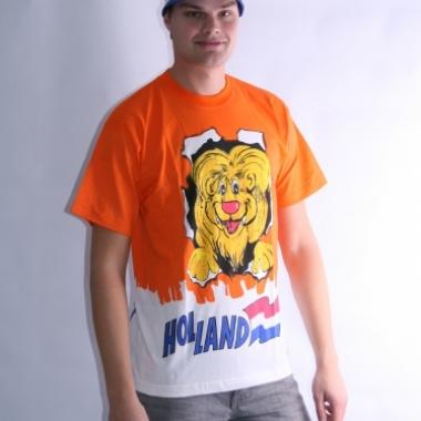 T-shirt met leeuw voor volwassenen