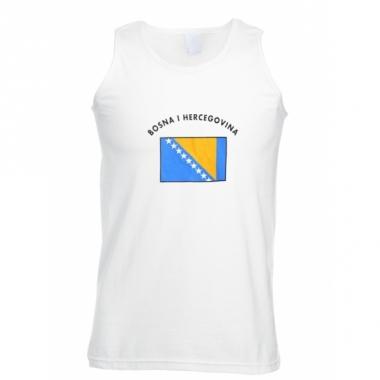 T-shirt vlag bosnie and herzegovina