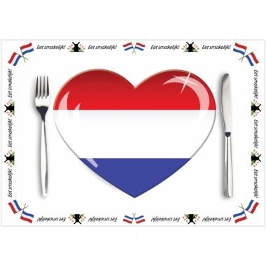 Tafel placemats holland 10 stuks