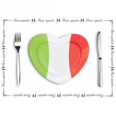 Tafel placemats italie setje