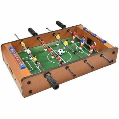 Tafel voetbalspel voor op kantoor
