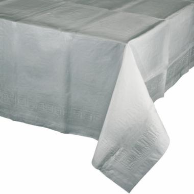 Tafellaken zilver grijs 274 x 137 cm