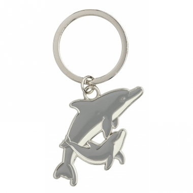 Tas sleutelhanger dolfijn 5 cm