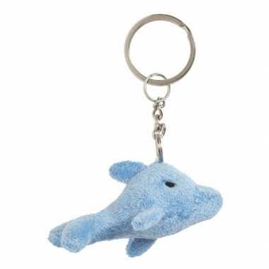 Tas sleutelhanger dolfijn 6 cm